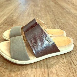 Crocs sandals, hardly worn